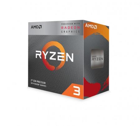 Procesor AMD Ryzen 3 3200G, 4 nuclee, 3.5GHz (3.7GHz MaxTurbo), 4MB, AM4, 65W