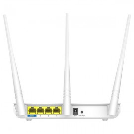 Poze Router Wireless TENDA F3 N300, 300 Mbps, WAN, LAN, alb