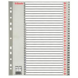 Separatoare Index 1-31 Plastic Maxi Esselte