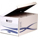 Container Arhivare  6 bibliorafturi Cu Capac Bankers Box Fellowes, 280 x 356 x 554 mm