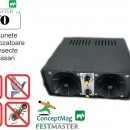 Aparat ultrasonic industrial Pestmaster i70 - impotriva soarecilor, sobolanilor, pasarilor si insectelor, 700mp