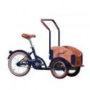 Bicicleta Triciclu pentru copii Pegas Mini Cargo 1S, Albastru Calator