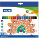 Carioca 18 culori Milan