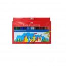 Carioci 50 culori/set FABER-CASTELL