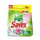 Detergent Automat Savex Parfume 2 in 1 Fresh, 20 kg