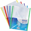 Folie protectie cristal, margine color, 40 microni, 25 folii/set, 1 cul/set, DONAU