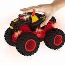 Masinuta cu baterii, lumini si sunete, Hot Wheels Monster Trucks