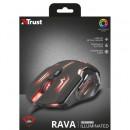 Mouse gaming Trust Rava GXT 108, viteza 200 DPI