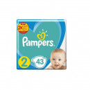 Pampers Active Baby Scutece Giant Pack, Nr.2, 4-8 kg, 43 buc