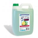 Sapun lichid Antibacterian Clovin cu lamaie si ceai verde, 5l
