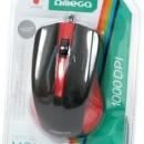 MOUSE Omega 3D OPTICAL 1000DPI VALUE LINE USB MIX culori