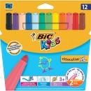 Markere Bic colorate lavabile Visacolor XL 12