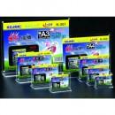 Display plastic cu magneti, pentru pliante, forma T, A4-landscape (297 x 210mm), KEJEA - transparent