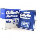 Set lame, Gillette Platinum, 50 bucati