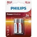 Baterie Power Alkaline LR6P2B/10, AA 2buc/set