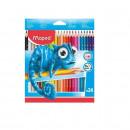 Creioane colorate Maped Pulse 24 culori/set