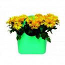 Ghiveci de flori model Geanta BB Mini, 16 x 11 x 21 cm, plastic
