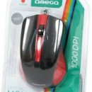 MOUSE Omega 3D OPTICAL 1000DPI VALUE LINE USB MIX culori
