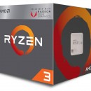 Procesor AMD Ryzen 3 2200G, 3.7 GHz, 4 nuclee, AM4,  YD2200C5FBBOX