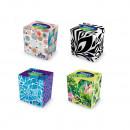 Servetele la cutie faciale VELVET Style-Cube, 3 straturi, 60 buc/cutie