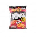 Snacks cu aroma de bacon Krax, 30g