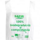 Pungi cu maner, 2Kg, Biodegradabile & Compostabile 100buc/set