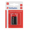 Baterie alcalina 9V, dreptunghiulara, 49924 Verbatim