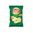 Chipsuri din cartofi cu gust de smantana si marar Lay's, 70g
