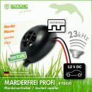 Dispozitiv Izotronic ultrasunete pentru alungare rozatoare din autoturisme, Marder Frei Profi