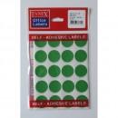 Etichete autoadezive color, D25 mm, 200 buc/set, Tanex