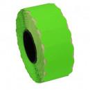 Etichete role pret autoadezive Verde 26x12 mm, 1500buc/rola