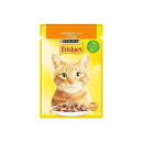 Hrana umeda pentru pisici Friskies Adult, Pui In Sos, plic 85g