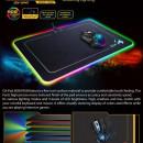 MousePAD GENIUS gaming, GX-Pad 600H RGB, plastic, iluminare RGB