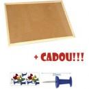 PANOU PLUTA 100*200 CM RAMA LEMN MEMOBOARDS+ 1 set pioneze Cadou