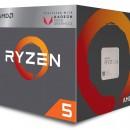 Procesor AMD Ryzen 5 2400G, YD2400C5FBBOX, 4 nuclee, 3.6GHz