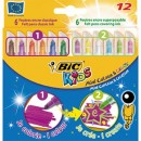 Markere colorate Bic Mini Colour &Create 12 buc/set