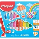Carioca Maped Color'Peps My First Jumbo 24/set