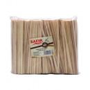 Paletine din lemn pentru cafea 14 cm, 500buc/punga Safir