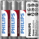 Baterii Philips Power Alkaline AAA 4buc/folie sticker LR03P4F/10