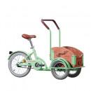 Bicicleta Triciclu pentru copii Pegas Mini Cargo 1S, Verde Fistic