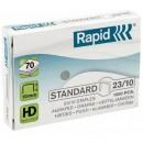 Capse 23/10 RAPID Standard 1000 buc/cutie
