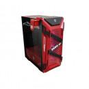 Carcasa ASUS TUF Gaming GT301 ZAKU II EDITION, Mid-Tower, fara sursa, ATX, Red/Black