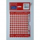 Etichete autoadezive color, D10 mm, 1080 buc/set, Tanex