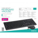 Kit wireless Tastatura + Mouse OMEGA OKM071