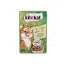 Kitekat Hrana umeda completa cu Pui pentru pisici, plic 100g