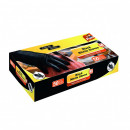 Manusi negre din nitril 50 bucati/cutie Fino - M