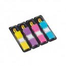 PageMarker Index Mini Post-it 12x43mm 4 culori/set 140f neon