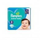 Scutece Pampers Active Baby Compact Pack, Numaru 3, 6-10 kg, 29 buc