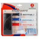 Set markere whiteboard Noki + burete+ solutie de curatat