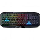 Tastatura gaming Genius Scorpion K215, iluminare